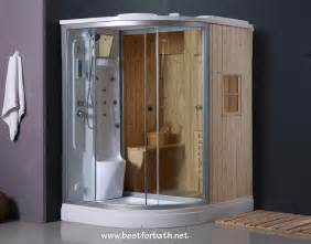 deluxe shower sauna combo system steam cabin b001