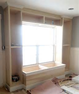 Window Bench And Bookshelves 1000 Ideas About Window Seat Storage On