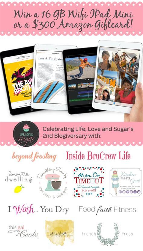 Amazon Ipad Giveaway - ipad mini or 300 amazon gift card giveaway