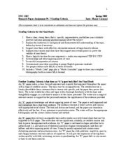 research paper assignment sheet research paper assignment sheet 1 enc 1102 research