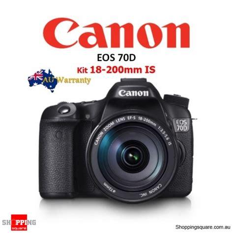 canon eos 70d kit 18 200mm is lens dslr shopping shopping square au
