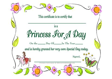 printable birthday certificate templates 5 best images of free printable happy birthday