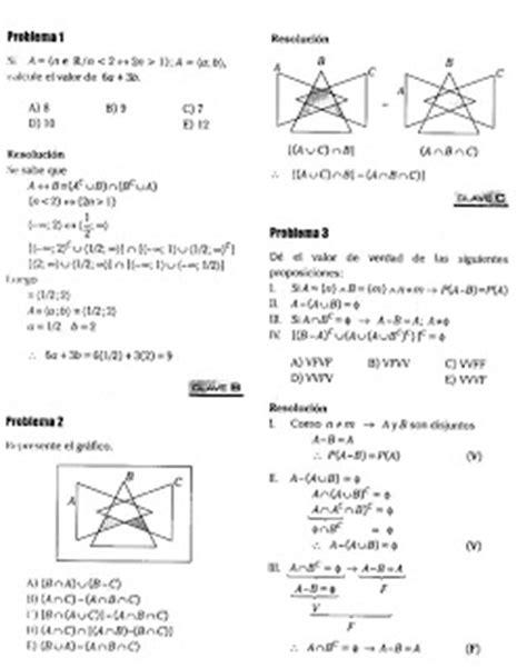 preguntas de logica matematica para universitarios diagramas de venn ejercicios resueltos 171 blog del profe alex
