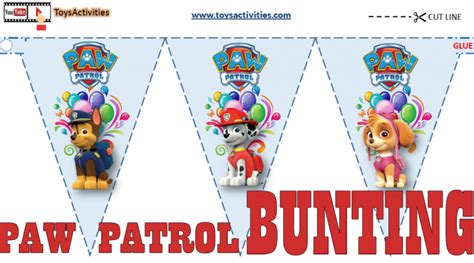 Barbie Home Decorating Games by Paw Patrol Party Supplies Paw Patrol Party Flags