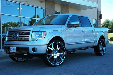 Berkualitas Sweety Bronze Xl 26 4 f150 on 24s 2010 ford f 150 platinum edition on 28 inch