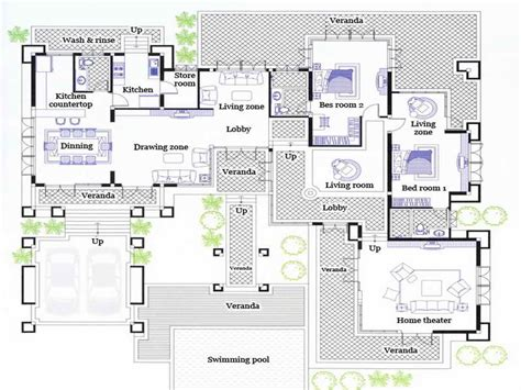 awesome split level house plan 25 pictures house plans