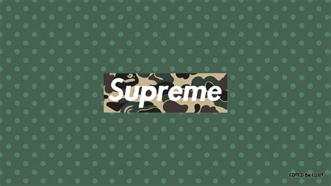Supreme X Bape supreme x bape wallpaper 1920x1080 by elliotback on