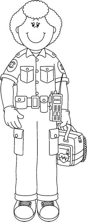 free coloring pages of emt badge