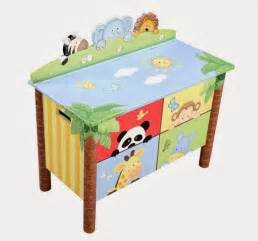 Toy Chest With Bookcase Children S Wooden Toys Toy Play Kitchen Furniture