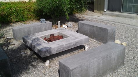 build pit concrete build concrete pit fireplace design ideas