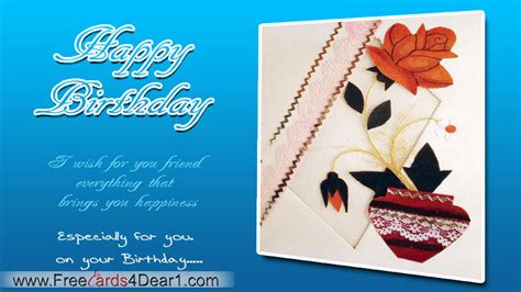Greeting Card For Birthday Friend Birthday Greeting Card For A Friend Greeting Cards