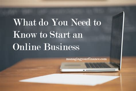 what do you need to start an online business sara may what do i need to know to start an online business
