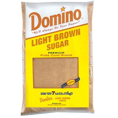Light Brown Sugar Substitute by Domino Light Brown Sugar 7 Lb Sam S Club