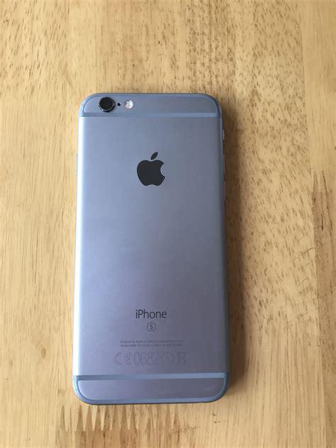 Iphone 6s 64gb Gray apple iphone 6s 64gb space grey ee smartphone mkqn2