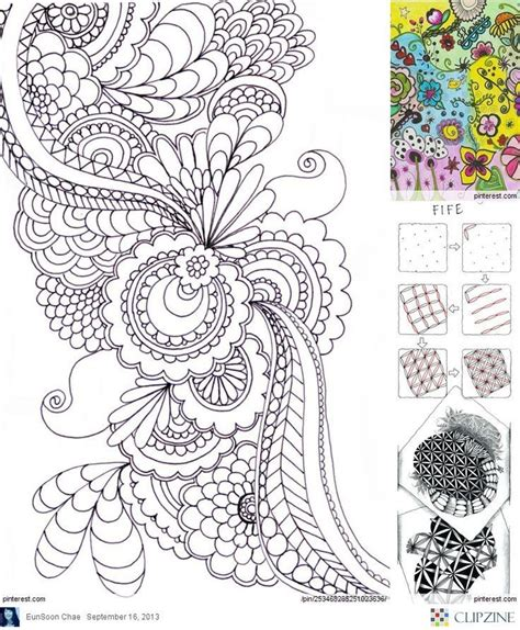doodle zentangle zentangle patterns ideas doodles