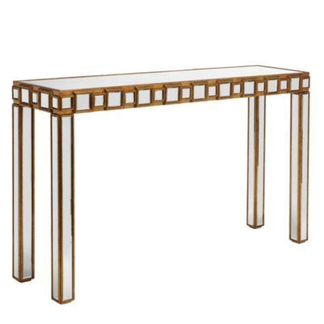z gallerie mirrored console table facet console table z gallerie