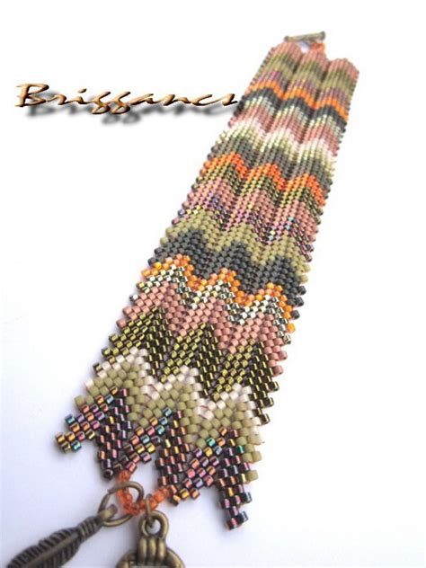 beading herringbone ndebele stitch on pinterest 128 pins combo of herringbone and peyote briggancs mississippi