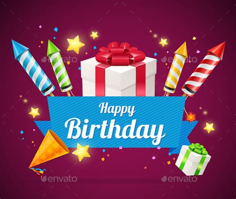 happy birthday card template ilustrator birthday card template 35 psd illustrator eps format