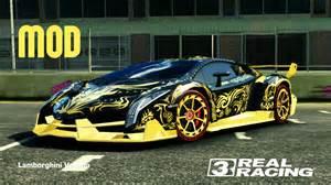 Real Gold Lamborghini Real Racing 3 Lamborghini Veneno With Golden Tribal