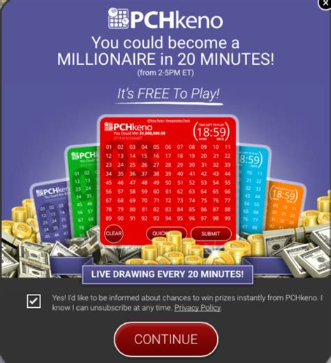 Pch Website - enjoy the new pch keno site pch blog