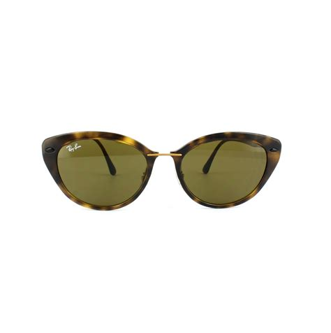 Sunglases Rbn 4250 cheap ban sunglasses 4250 710 73 brown discounted sunglasses