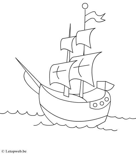 Coloriage Bateau Pirate Les Beaux Dessins De Transport 224