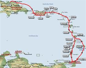 Caribbean Cruise Map by 26 New Caribbean Cruise Destinations Map Punchaos Com