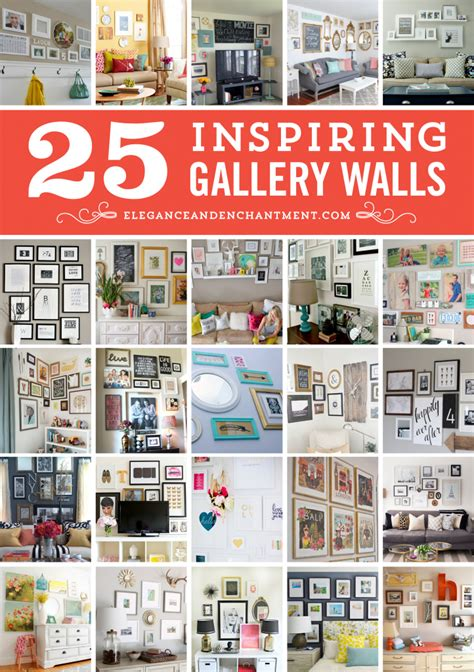 how to do a gallery wall 25 inspiring gallery wall ideas
