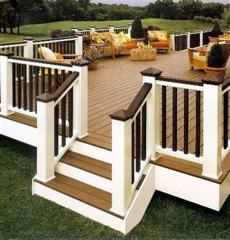 exterior design and decks best 25 simple deck ideas ideas on pinterest backyard