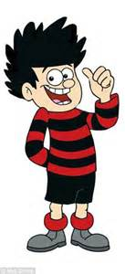 Impressions Stripes Jumper nicky does best dennis the menace impression in a and black striped jumper