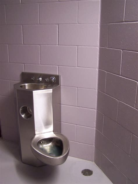 prison toilet and jail cell