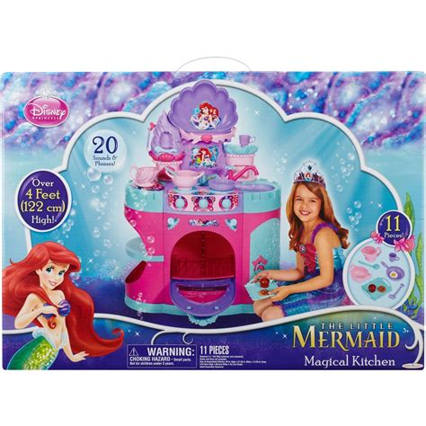 Princess Ariel Kitchen by Disney Princess Mermaid Magical Kitchen Workshops
