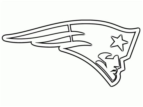 Coloring Pages For New England Patriots | new england patriots logo coloring pages coloring home