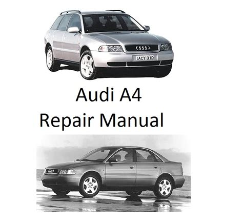 manual repair free 2005 audi a4 navigation system audi a4 b5 1995 2001 repair manual