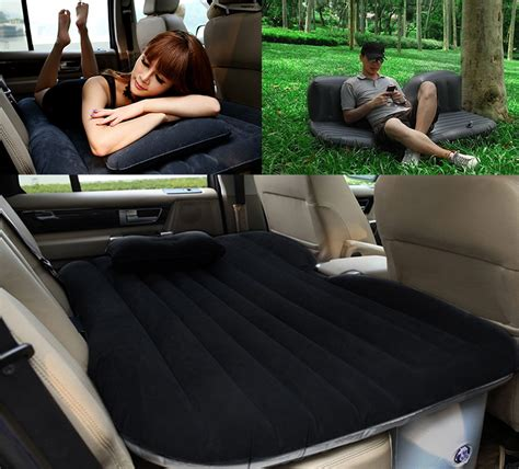 inflatable backseat bed inflatable car backseat air mattress the green head