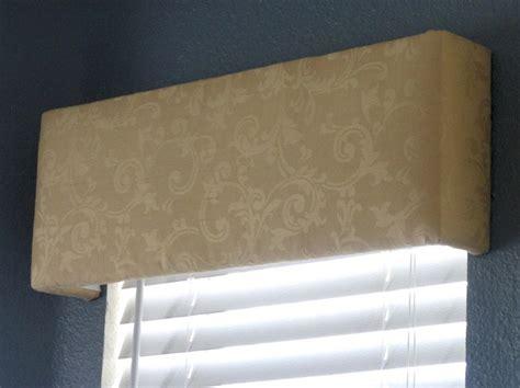 Upholstered Valance Diy Upholstered Cornices Cornice Ideas