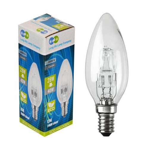 Non Halogen L by Dimmable E14 Edison Ses Eco Halogen Energy Saving Candle