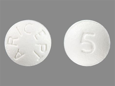 Aricept 5mg Eisai pillbox national library of medicine