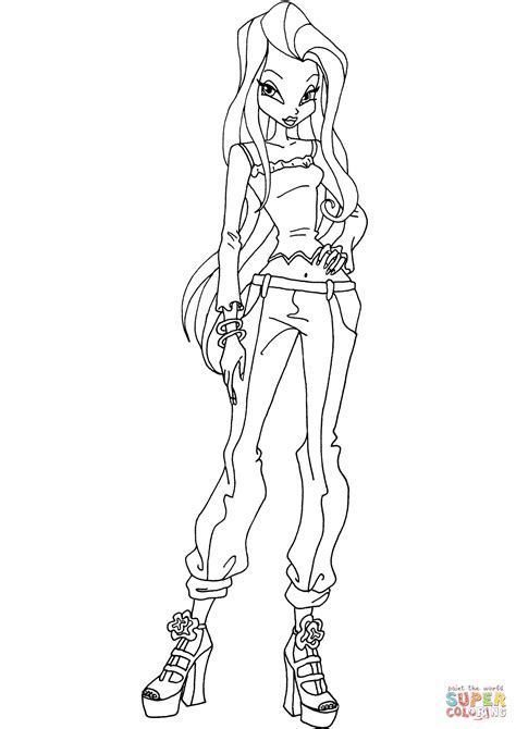 winx coloring pages winx club coloring page free printable coloring pages