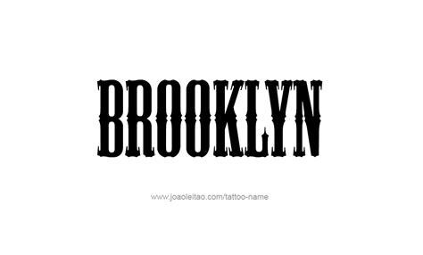 tattoo ideas for the name brooklyn tattoo design name brooklyn 10 png