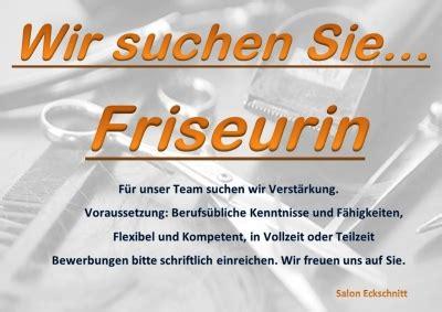 Friseurin Gesucht by Friseur Salon Eckschnitt Fr 246 Mberg In Berlin