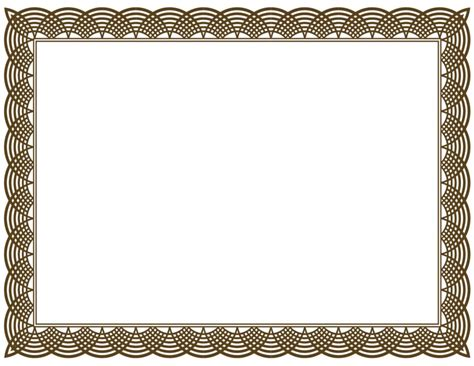 Design Of Certificate Borders | home design certificate border vector png clipart best