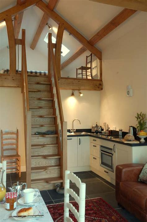 nant self catering barn conversion on a working