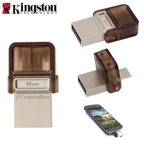 Usb Otg Kingston 8gb kingston 8gb data traveler microduo usb 2 0 otg dtduo 8gb
