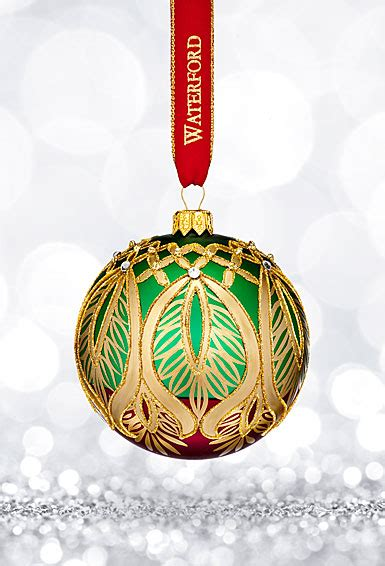waterford heirloom small ornaments waterford 2017 heirloom nostalgic collection peacock grande ornament