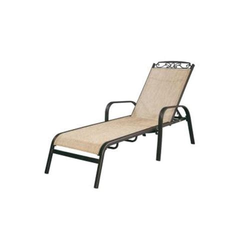 home depot chaise lounge chairs hton bay santa maria adjustable patio chaise lounge