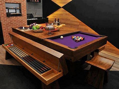 awesome pool table design furniture designs