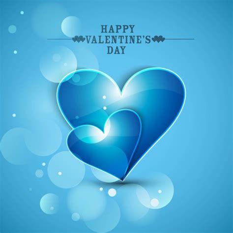 Romantic Designs by Fondo De Amor En Color Azul Brillante Descargar Vectores