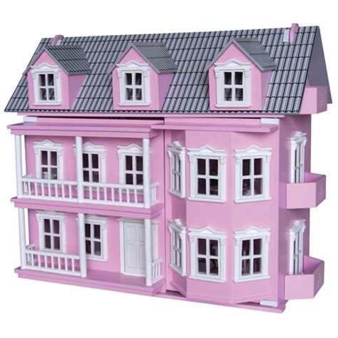 girls wooden dolls house wooden pink victoria doll house romantic flair original