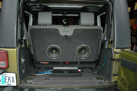 Subs For Jeep Wrangler Which Subwoofer Is Right For Jeep Jk Forum
